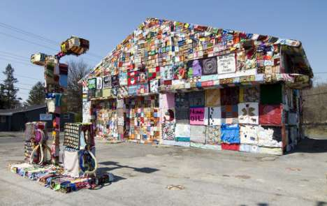 Gas Station Art Projects - International Fiber Collective For Oil Dependency Awareness