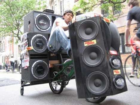 Pimped BMX Bicycles With Subs