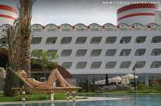 Cruise Ship Hotels on Land - $50 Million Queen Elizabeth Hotel in Mediterranean