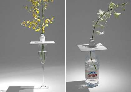 Device Turns Any Cup Into Stylish Vase
