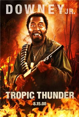 Changing Race - Robert Downey Jr. Becomes Black Man in Tropic Thunder
