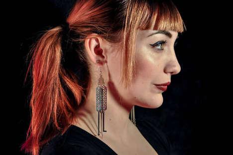 Dazzling Lock-Picking Earrings