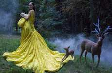 Ethereal Fairytale Editorials - The Harper's Bazaar China Issue Stars Magda Laguingne