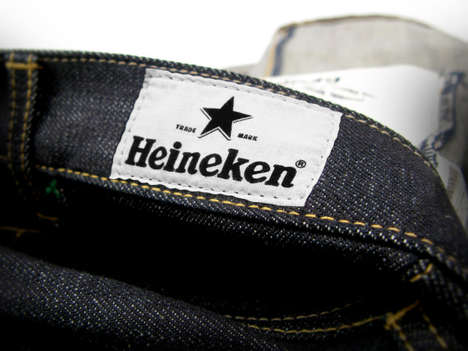 Beer-Branded Denim
