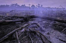Destruction Demonstrating Eco-Photography - Peter Essick's New Books Shows Environmental Degradation