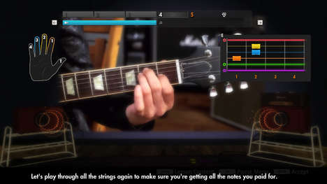 Personalized Guitar-Teaching Games - Learn How to Play Guitar Fast with Ubisoft's Rocksmith 2014