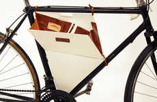 Bicycle-Bound Briefcases - The Frame It Bag Fastens to the Body of Your Bike For Smart Added Storage