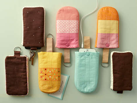 Edible Aesthetic Phone Cases - The Straight Stitch Society Creates Sweet Cellphone Cases