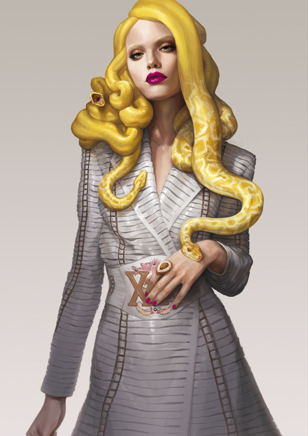 100 Artful Fashion Illustrations