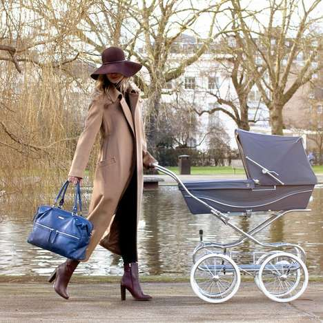 Couture Baby Satchels - This Stylish Diaper Bag is Nice Enough to Use Even if You Don't Have a Child