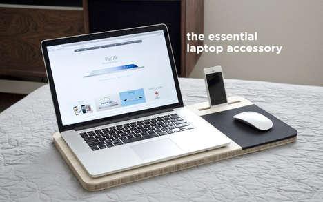 Conveniently Convertible Mobile Desks