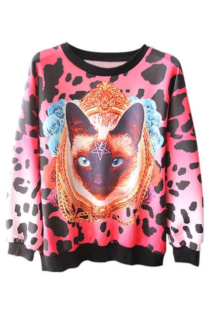 Kaleidoscopic Kitty Clothing