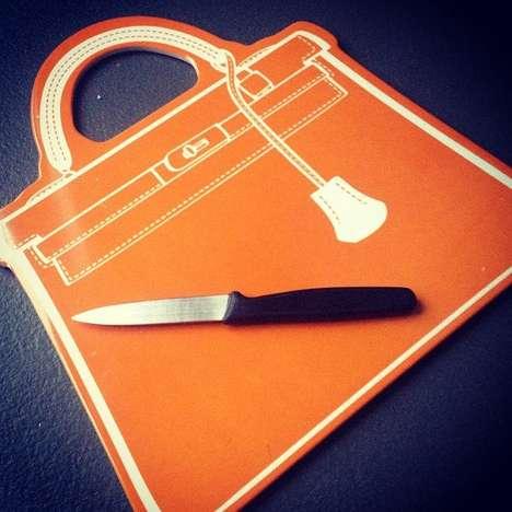 Luxury Handbag Chopping Boards