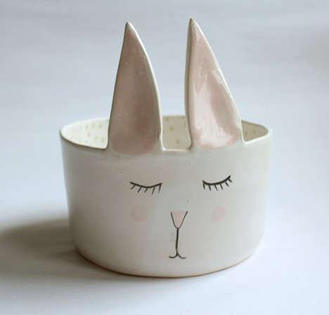 Minimalist Animal Ceramic Dishes
