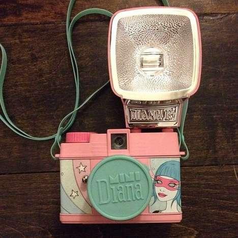 Colorful Cartoonish Cameras