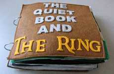 Plush Fantasy Novels - The Quiet Book and the Ring is a Soft and Interactive Literary Toy