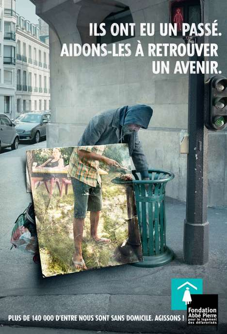 This French Homeless Campaign is a Blast From the Past