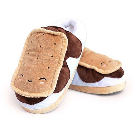Heated Campfire Confection Slippers