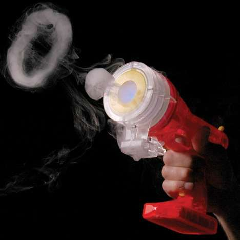 Vaporizing Blaster Guns - This Ring Making 'Zero Toy' Vapor Blaster is a Safe Toy Gun
