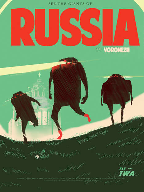 Urban Legends Travel Posters