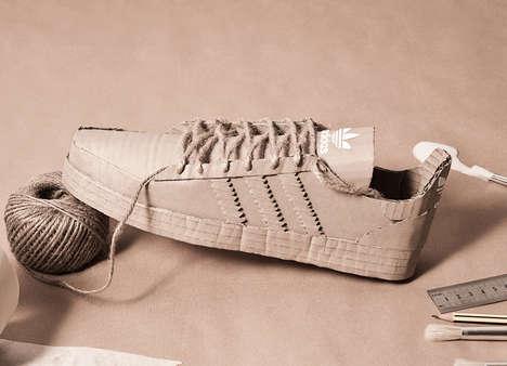 Cardboard Sneaker Replicas