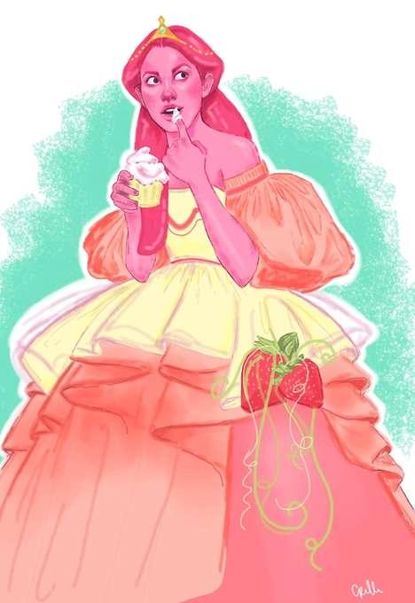 Cult Cartoon Princess Art