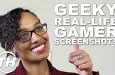 Geeky Real-Life Gamer Screenshots - Sarah Dos Santos Talks About a Unique Video Game Cosplay Craze