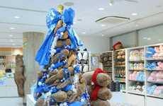 Stuffed Lizard Christmas Trees - This Plush Toy Tree Will Have You Kissing Your Traditions Goodbye