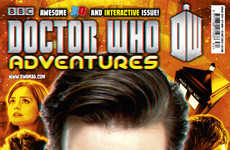 Interactive Sci-Fi Magazines - The Doctor Who Adventures Interactive Experience is Out of this World