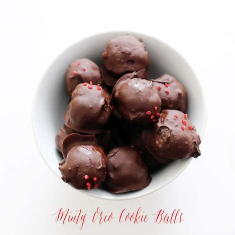 Minty Holiday Munchables