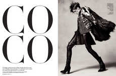 Dynamic Punk Editorials - The L'Officiel Netherlands Photoshoot Stars Coco Rocha