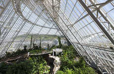 Ecosystem Hybrid Structures - The National Ecology Centre Has the World's Most Diverse Collection