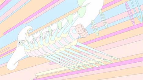 Surreal Transportation Animations