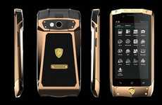Angular Super Car Smartphones - The Antares Smartphone May Literally Burn a Hole in Your Wallet