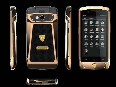 Angular Super Car Smartphones