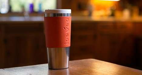 Heat-Controlling Travel Cups