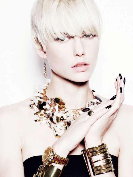 Edgy Jewelry Editorials