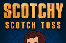 Movie-Promoting Game Apps - This Anchorman 2 Ad Game is Movie Promotion on Expert Level