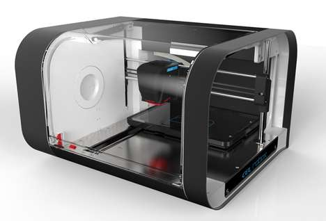 Robotic 3D Manufacturing Printers