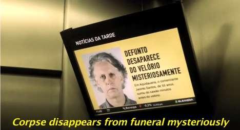 Undead Corpse Elevator Pranks