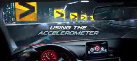 Interactive Car Racing Ads