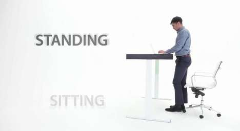 Movement-Encouraging Desks