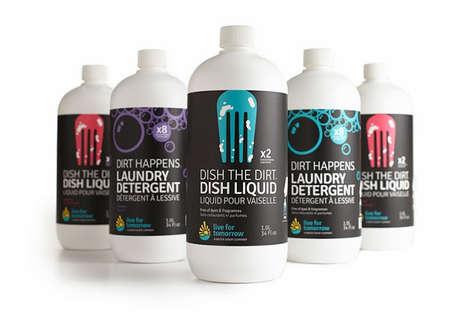 Iconic Cleaner Branding