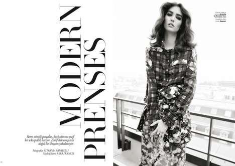 Modern Princess Editorials