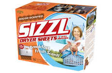 Bacon-Aromatic Dryer Sheets - These Bacon Scented Dryer Sheets Make a Hilarious Prank