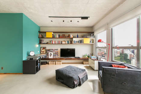 Organically Industrialized Apartments