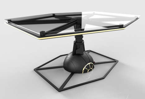 Space-Soaring Tables
