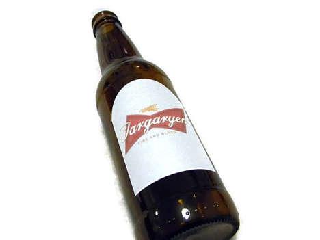 Fantasy-Inspired Beer Labels