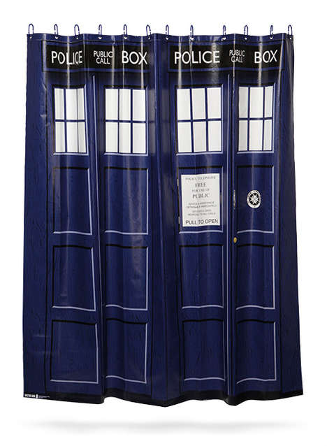 Police Box Shower Curtains