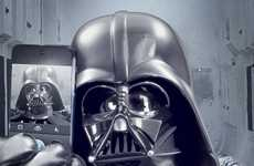 Galactic Social Media Accounts - A Darth Vader Selfie Kicks Off the Official Star Wars Instagram